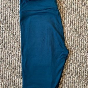 Solid Blue OS Lularoe Leggings